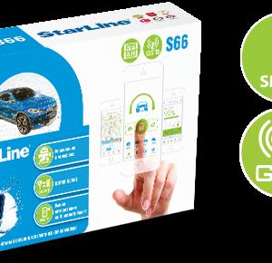 StarLine S66 BT 2CAN+4LIN 2SIM GSM