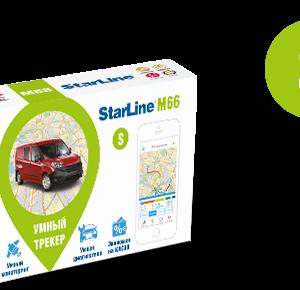 StarLine M66-S умный трекер